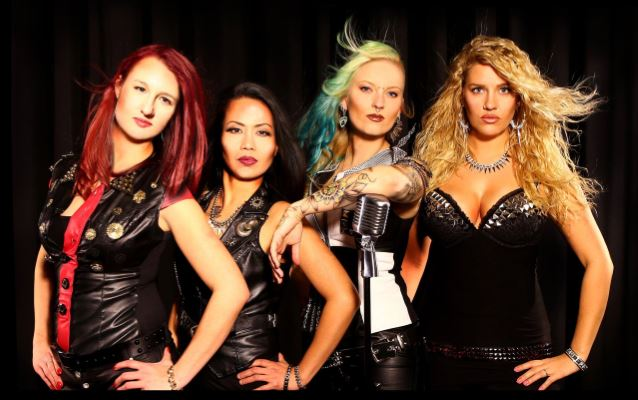 Swiss All Girl Heavy Metal Band Burning Witches Produced By Destruction S Schmier Myrocksoul